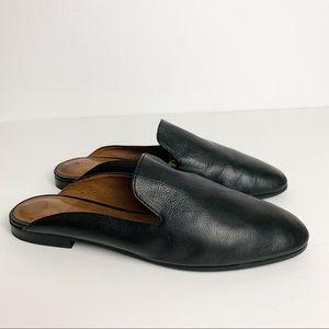 Frye Terri Leather Mules Slip On Flats Shoes